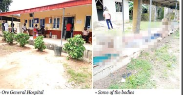 Mortuary overflows