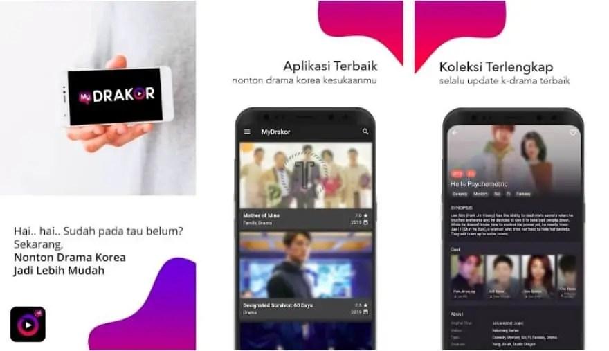 MyDrakor - Aplikasi Nonton Drama Korea di Android
