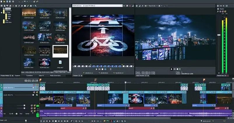 Sony Vegas Pro - Aplikasi Edit Video di Laptop