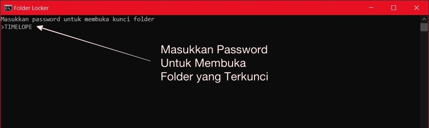 Buka File Terkunci di Windows dengan Password