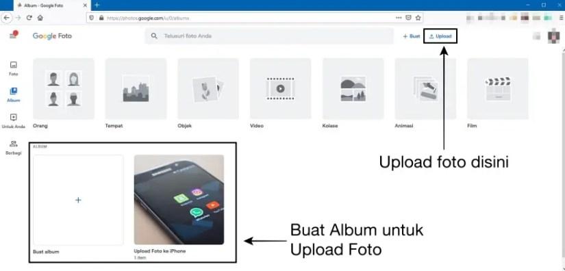 Cara Memindahkan Foto dari Laptop ke iPhone dengan Google Photos
