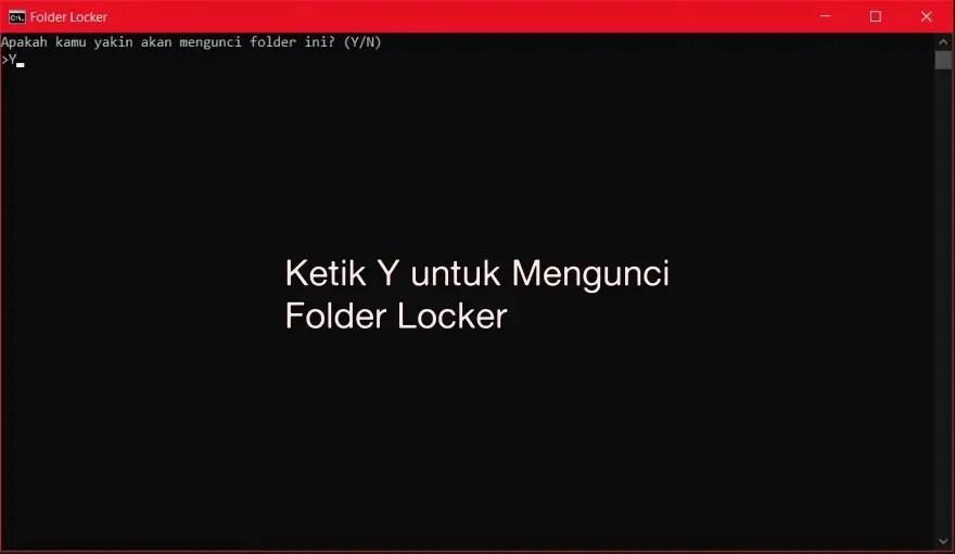 Permintaan Kunci Folder