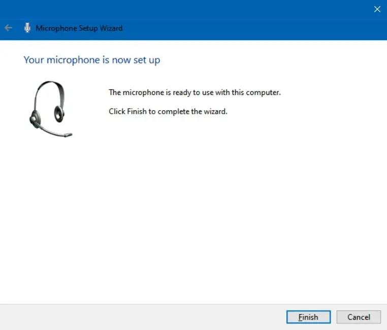 Microphone Sudah TerSetting di Windows 10