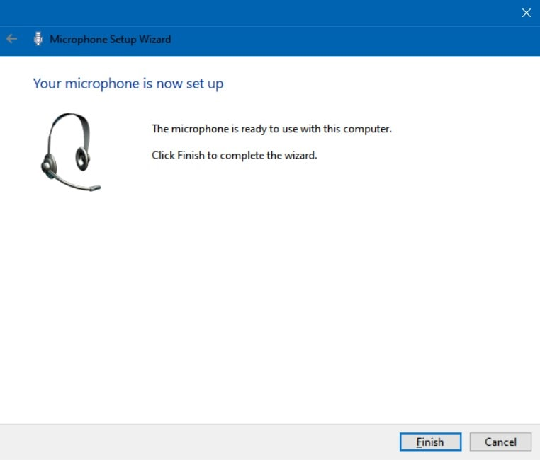 Microphone Sudah TerSetting di Windows 10