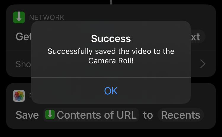 Video Twitter Berhasil di Download melalui iPhone