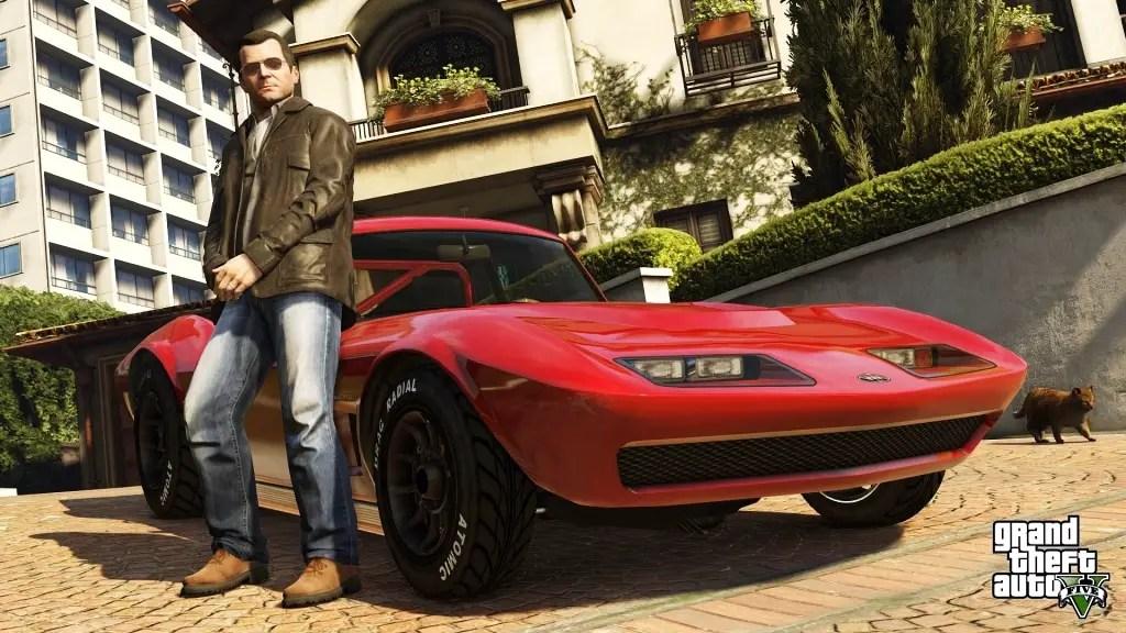 Grand Theft Auto V untuk PS4