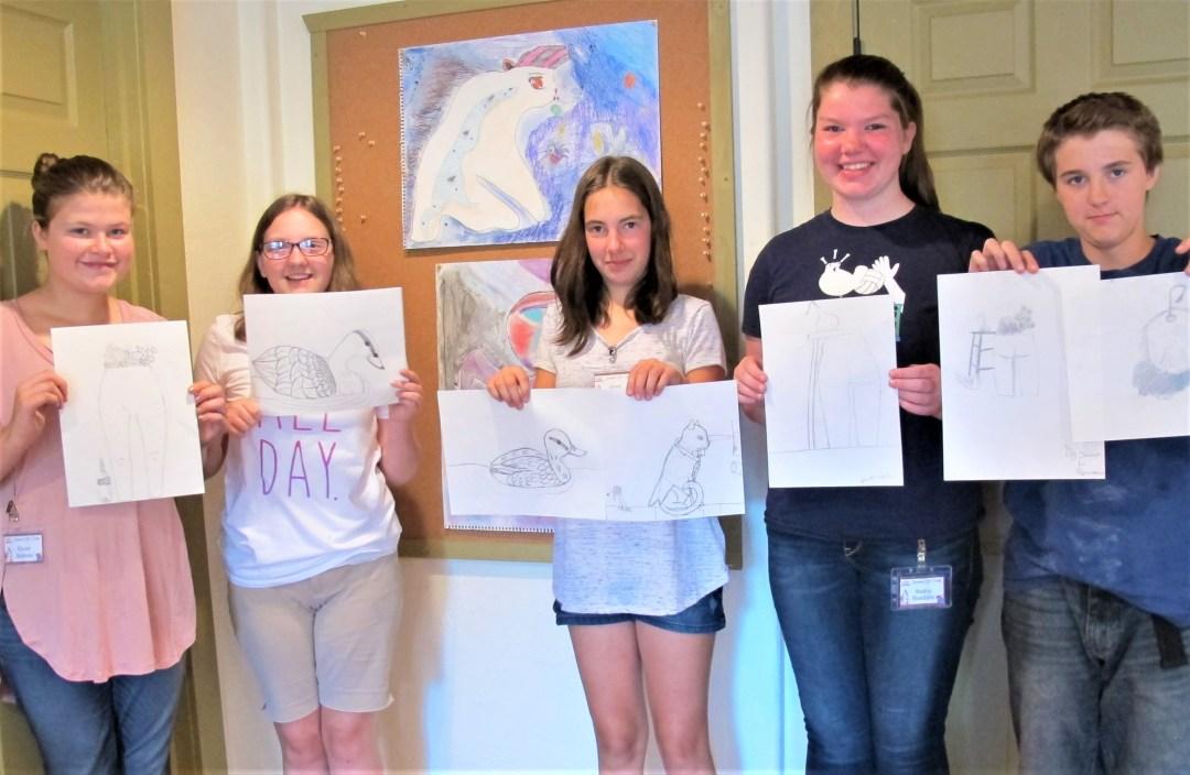 Summer Art Camp (Ages 12-16) With Allen Bishop 1