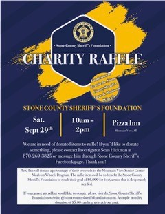 Stone County Sheriff's Foundation Charity Raffle 1