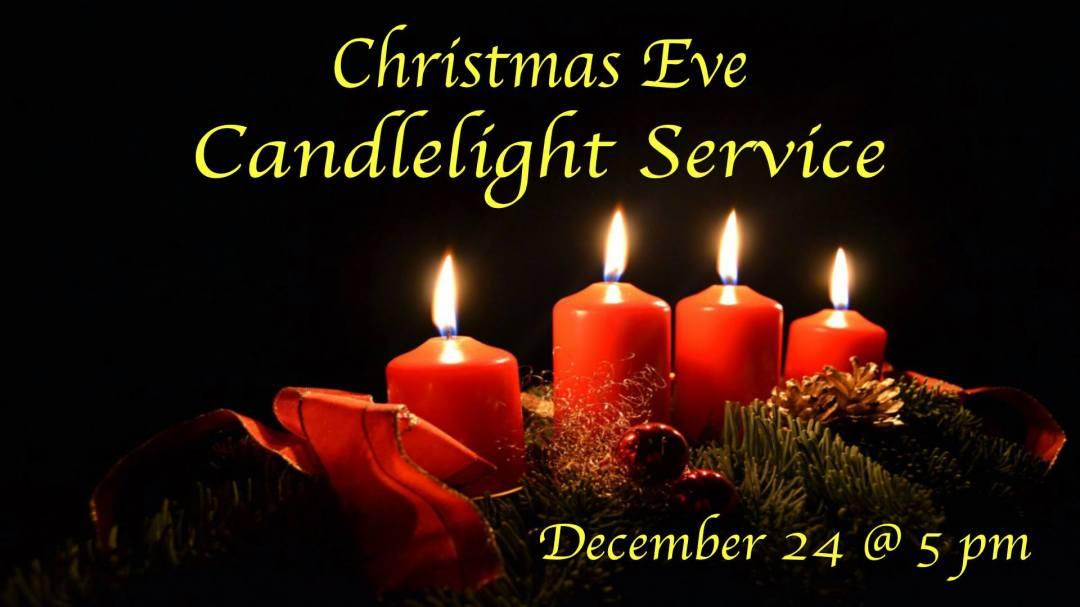 Christmas Eve Candlelight Service 1