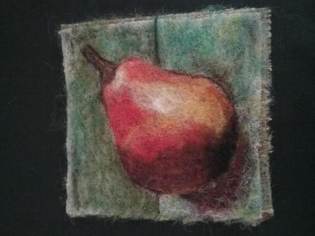 What in the World is Dry Needle Felted Painting? Beginners Study Course 1