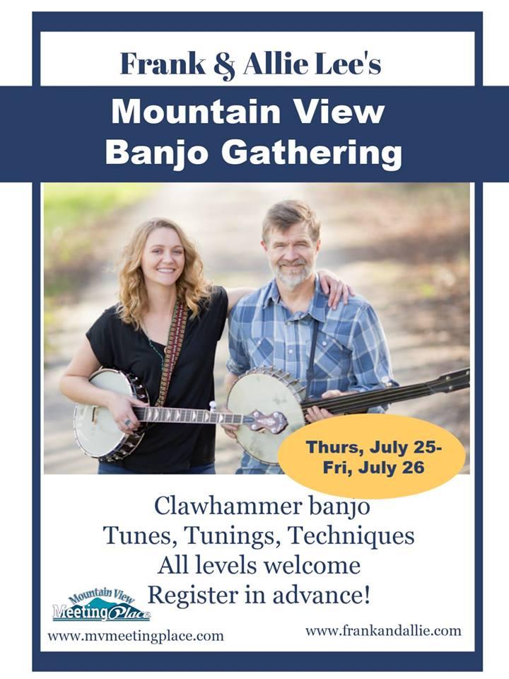 Frank and Allie Lee's Banjo Gathering 1