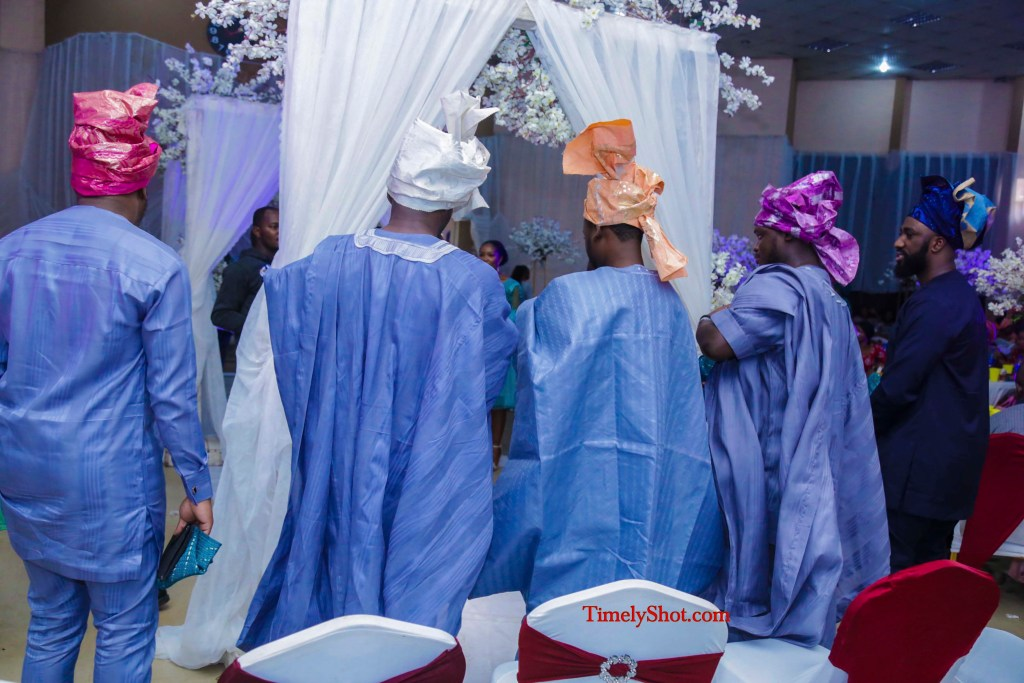 Lagos traditional wedding party