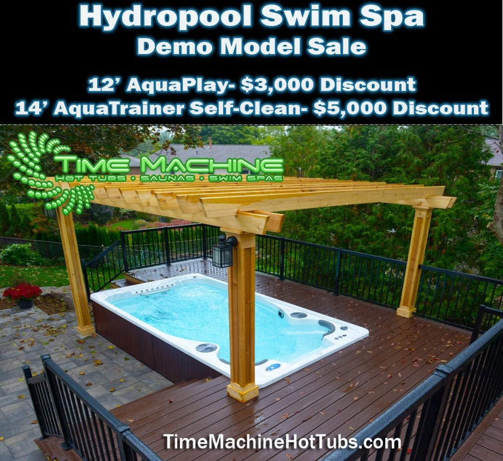 Discount Pricing on All Remaining Swim Spa Models- Hot Tubs ...