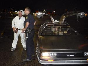 Doc Brown discusses the merits of why he shouldn't go to fake jail with a real St. Paul police officer.