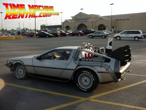 Sometimes you need your new time machine to get a good deal on groceries.