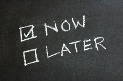Just Do It Now. – Time Management Ninja