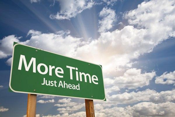 More Time ahead