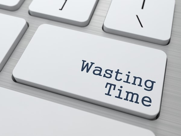 Wasting Time Button