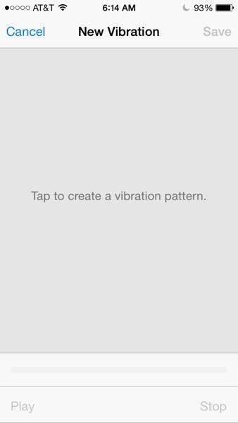 Create Vibration Custom