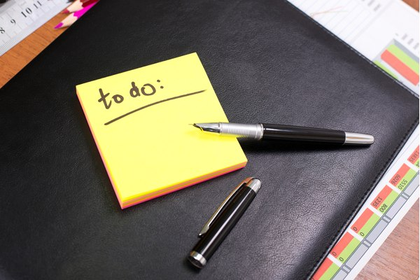 Where you keep your todo list