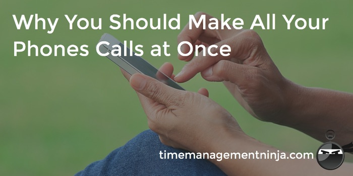 make all your calls at once