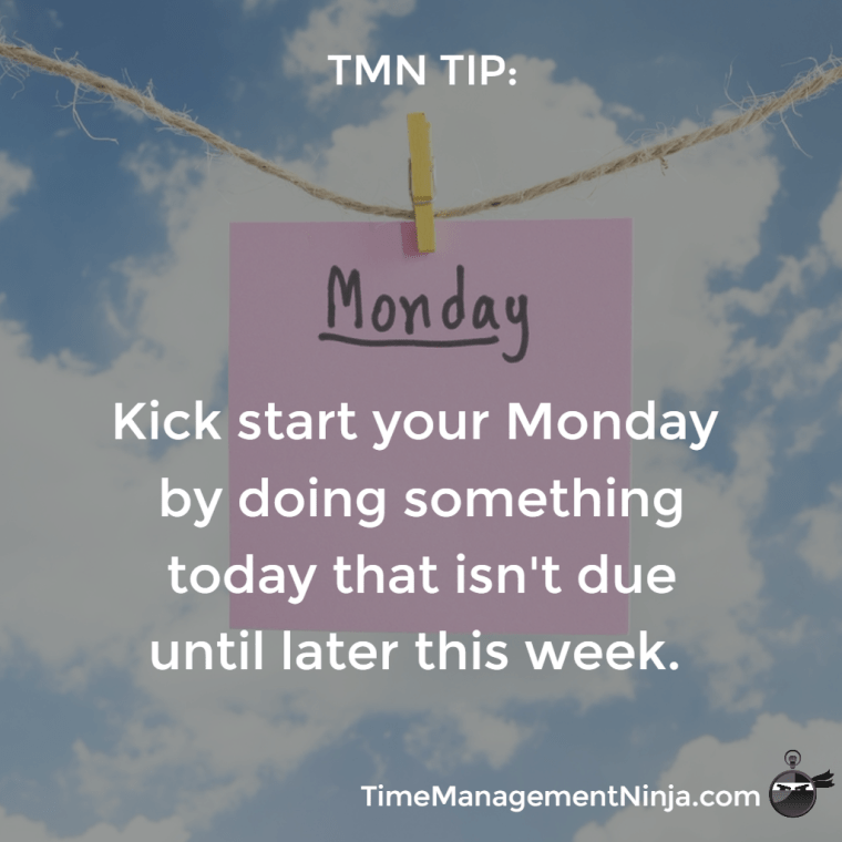 Kick Start Your Monday