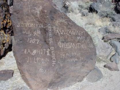Saline Valley, Saline Chronicles, petroglyph, black rock well, communities