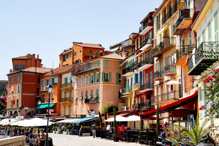 best French Riviera seaside town
