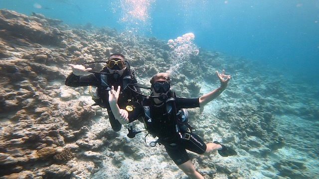 Diving in Maldives