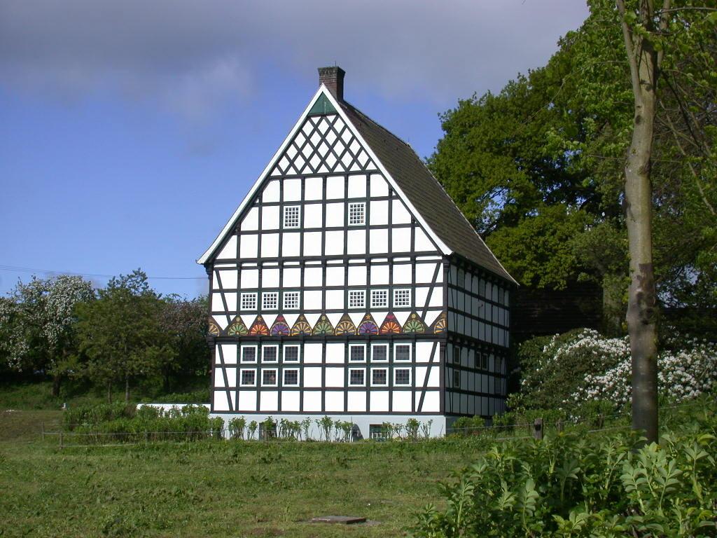 Duitse vakwerk konstruktie