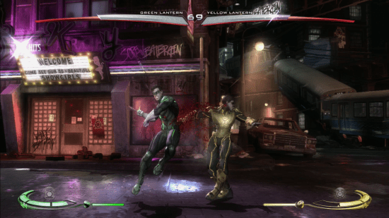 The brutality of this game is evident when you throw punches like this.
