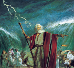 Moses Parts the Sea
