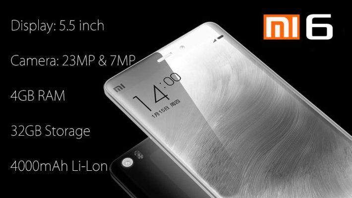 Xiaomi Mi6 Specs