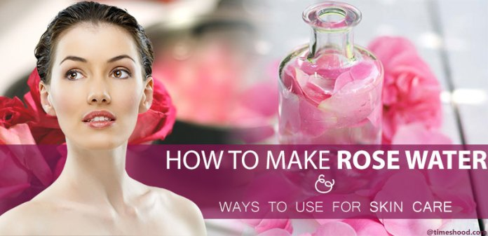 How to make pure rose water for face