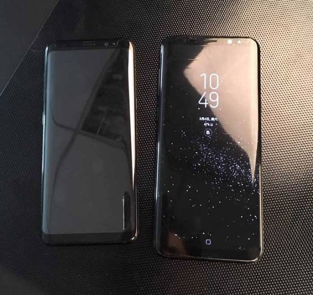 Samsung galaxy s8 and S8 Plus leaks photo