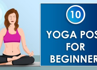 Yoga Pose for beginners