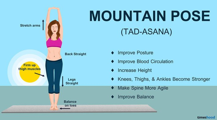 Mountain Pose (Tadasana) - Yoga for Beginners