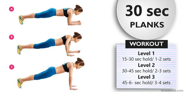 PLANKS - Morning Workout