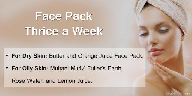 Face pack - 8 DIY Skincare before bath