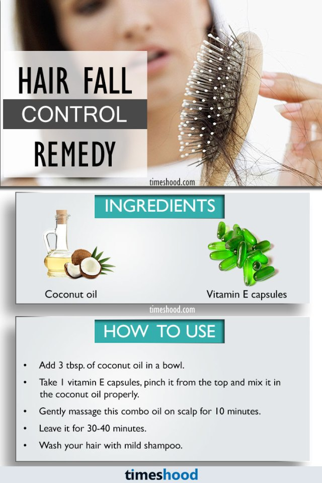 Hair Fall Control Remedy: Stop Hair Fall Immediately and Helps to Regrow. How to stop hair loss, Home remedy to control hair fall.