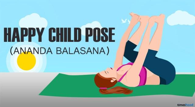 Ananda Balasana: Happy Baby Pose