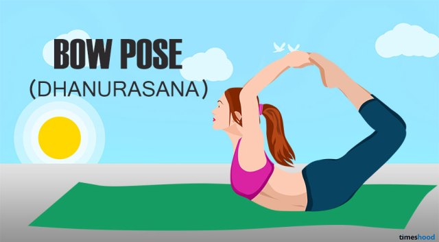 Bow Pose for belly fat. Yoga for Belly fat loss fast.