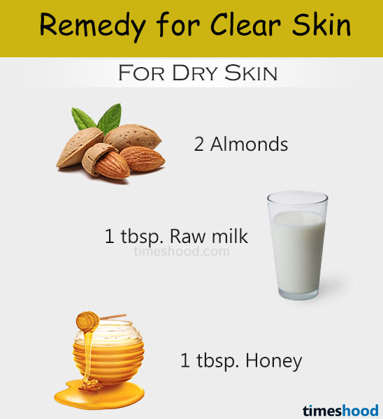 Almond, honey and milk face pack for skin whitening. Face pack for clear skin. Home remedies for clear skin naturally. Homemade tips for clear skin. Tips to get clear skin overnight. Clear skin tips. Remedy for dry skin.