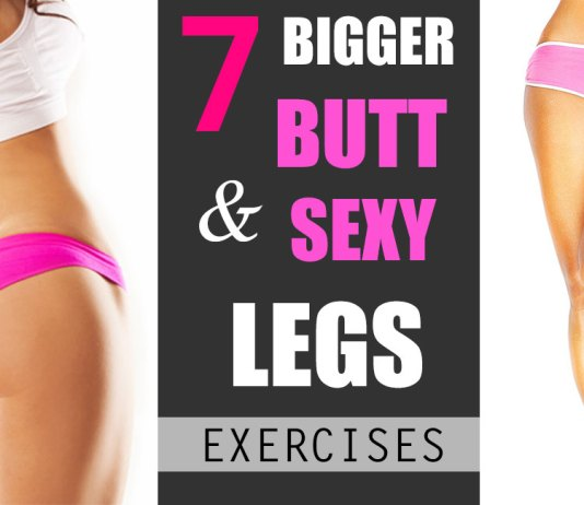 Try this workout plan for bigger butt and sexy legs. Only 4 weeks can change your look totally and make you beautiful, hot and sexy. These 7 effective exercise for bigger butt and sexy legs are arranged to make you hot and sexy with flat abs, stomach, bigger butt, toned thigh and sexy legs.