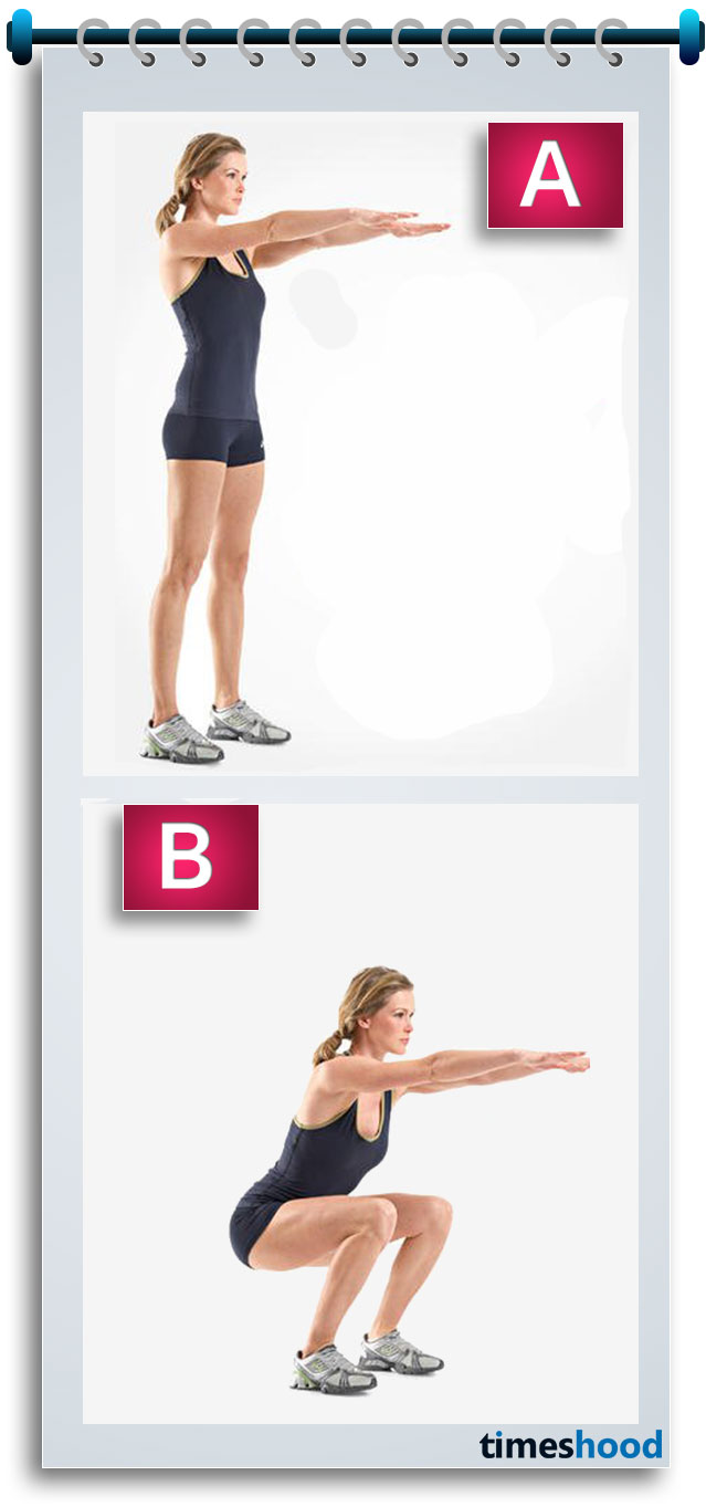 Want bigger butt and sexy toned legs? Then try this workout plan and 4 weeks challenge to get bubbly bigger butt and sexy legs. Squats are most effective workouts for bigger butt and toned thighs and legs. I am sure this workout will help to bring your confidence back about perfect shape.