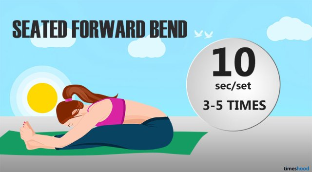How To Improve Flexibility Fast Try Seated Forward Bend Yoga For