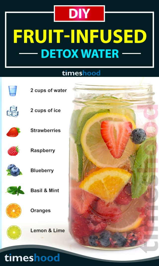 6 Diy Fruit Infused Detox Water Recipes For Weight Loss