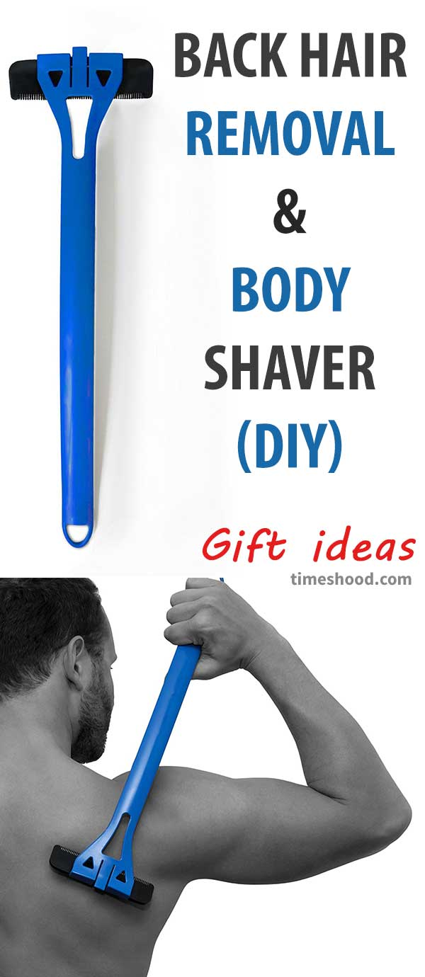 Bakblade hair removal and body shaver. Useful gift ideas for men. Gift ideas for dad, husband, friends.