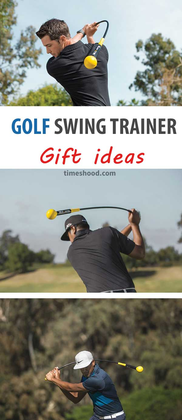 Golf Swing Trainer. Great gift for golf lovers. Gift ideas for men.