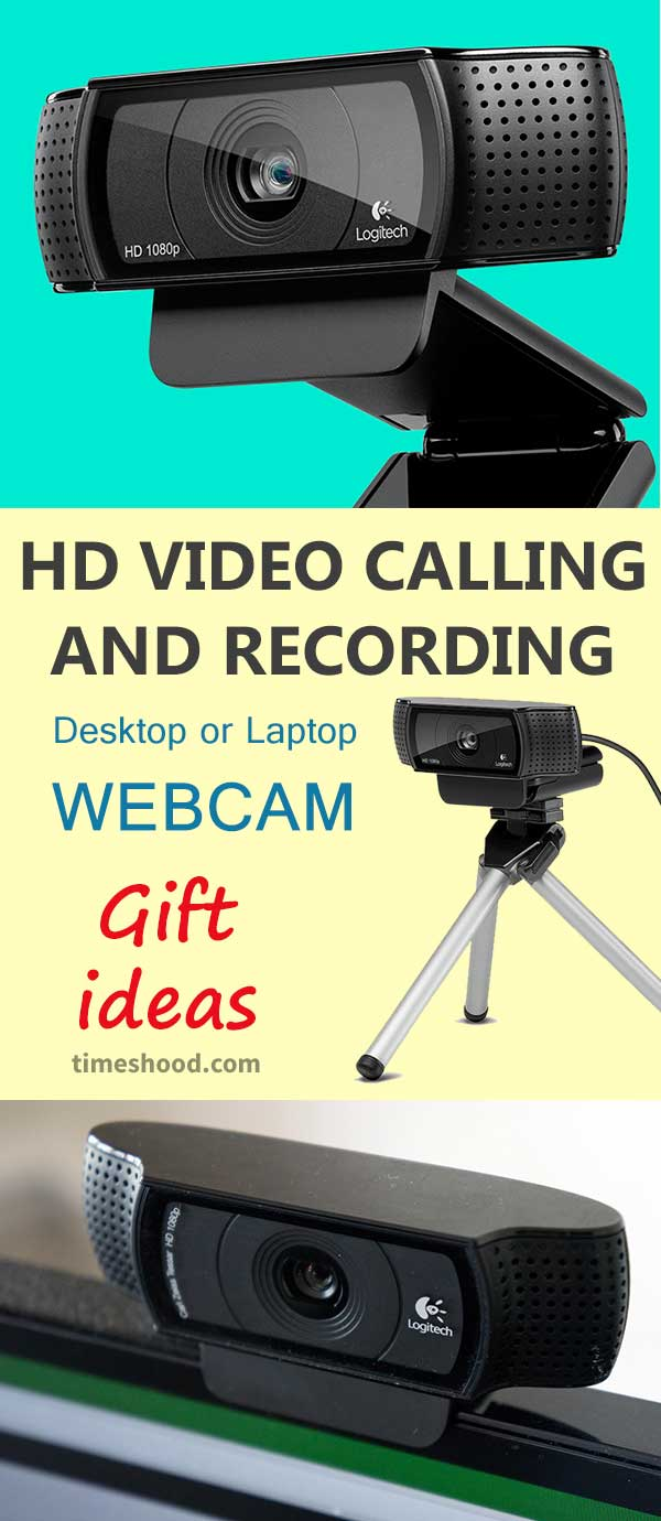 HD Video Calling and Recording - Gift Ideas. Christmas gift ideas for family, friends. Thanksgiving gift ideas. Cool items to buy and give. HD video webcam as a gift items for computer geeks.